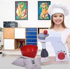 denzar children make a cake mixer