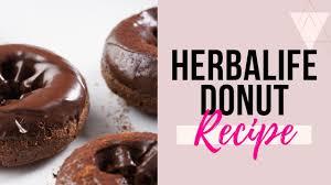 herbalife recipe donuts you