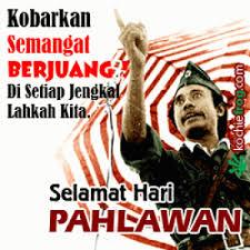 dp bbm hari pahlawan pertempuran surabaya informasi tanpa batas