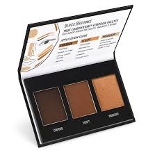 dark to deep contour palette
