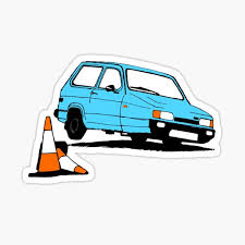 Reliant Robin Stickers Redbubble