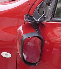 replace broken side view mirror