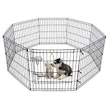 Peekaboo Dog Pen Pet Playpen Dog Fence Indoor Foldable Metal Wire Exercise Pen Puppy Play Yard Pet Enclosure Outdoor For Small Dogs Kittens Rabbits 8 Panels 24 On Galleon Philippines