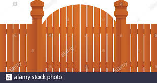 Farm Wood Gate Icon Cartoon Of Farm Wood Gate Vector Icon For Web Design Isolated On White Background Stock Vector Image Art Alamy
