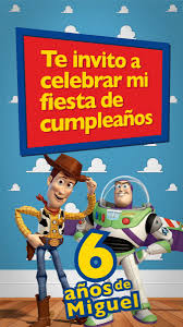 Video Invitaciones Digitales Para Cumpleanos Toy Story 199 00