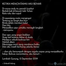 ketika mencintaimu aku be quotes writings by srikandi