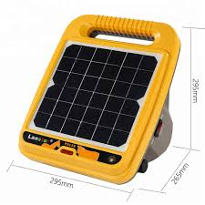 Solar Powered 12kv 0 4j Output Farm Electric Fence Energizer Electric Fencing Charger Controller Alarm Host Aliexpress