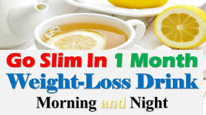 go slim in one month weight lose drink