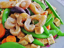 Stir Fried Sea Cucumber with Tofu and ...