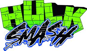 Hulk Smash 51 Decal Sticker Decal Max