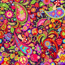 hippie wallpaper stock ilrations
