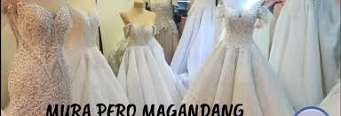 divisoria wedding gowns php3 500 lang