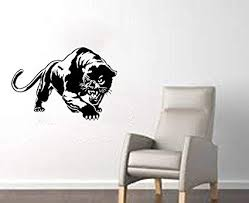 Amazon Com Valuevinylart Panther Large Wall Decal 32 X22 Black Home Kitchen