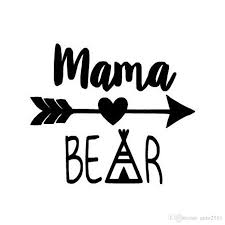 2020 Hot Sale Mama Bear Funny Car Sticker For Truck Window Bumper Auto Suv Door Kayak Vinyl Decal From Auto2011 0 91 Dhgate Com
