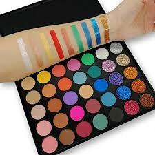 eyeshadow palette matte glitter