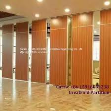 movable partition wall restaurant