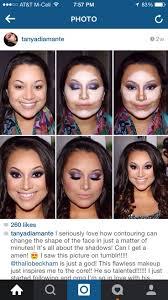 how to contour makeup round face