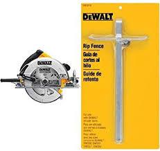 Dewalt Dwe575sb 7 1 4 Inch Lightweight Circular Saw With Electric Brake Dewalt Dw3278 Circular Saw Rip Fence Amazon Ca Tools Home Improvement