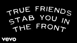 bring me the horizon true friends official lyric video