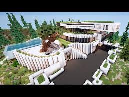 minecraft grande maison moderne