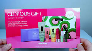 myer australia gift with purchase 2018