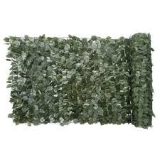 Naturae Decor 60 In X 96 In Faux Ivy Leaf Privacy Roll 1pk Rld6096 1000 The Home Depot