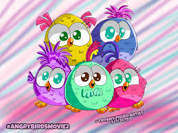 Hatchlings from new Angry Birds Movie 2 short by ANGRYBIRDSTIFF on  DeviantArt
