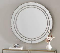 marlena antique mirror round pottery