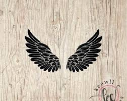 Angel Wings Decal Etsy