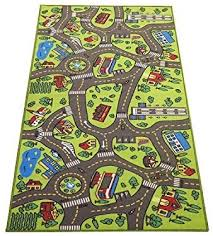 Amazon Com Extra Large 6 6 Feet Long Kids Carpet Playmat Rug City Life Great To Play With Cars Toys Have Fun Safe Learn Educational Ideal Gift For Children Baby