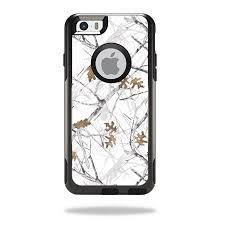Skin Decal For Otterbox Commuter Iphone 6 Plus 6s Plus Truetimber Conceal Snow Walmart Com Walmart Com
