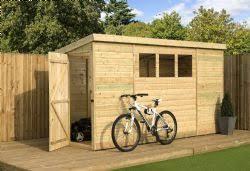 10x3 garden sheds