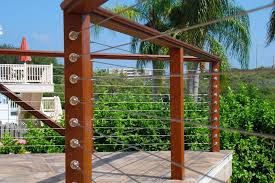 Cable Deck Railing Model Oscarsplace Furniture Ideas Make A Cable Deck Railing