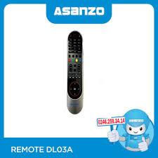 Remote / Điều khiển tivi Asanzo 43 inch 43T690 - ASANZO Hà Nội