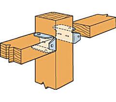 Simpson Strong Tie Fb24z 2 By 4 Inch Fence Bracket Z Max 707392696605 2