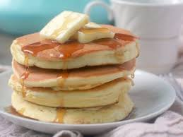 pancakes without baking powder fluffy