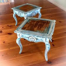coffee table ivory french country