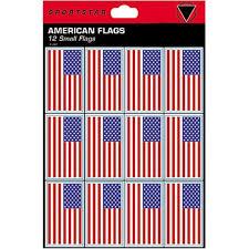 Helmet Stickers American Flag Baseball Junk