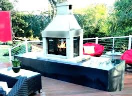 outdoor fireplace cost emmasang co