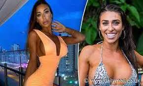 Margarita Smith flaunts her ample assets in a revealing neon peach $80  mini-dress - Celebrity news - NewsLocker