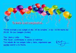 Carta De Invitacion Para Mi Cumpleanos Logddwall