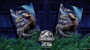 Jurassic World Live Tour - Official Souvenir Tag! Tickets
