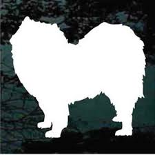 Solid Samoyed Decals Car Window Stickers Decal Junky