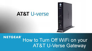 wifi on your at t u verse gateway