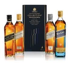 send johnnie walker whiskey gift set