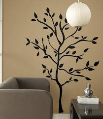 Silhouette Tree Wall Decal 47 X62