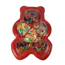 gummi bear tray gift packaged gummies