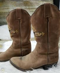 whiskey cowboy boots genuine leather sz