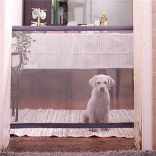 Magic Gate Portable Folding Fence For Indoor And Outdoor Pet Safety Magnideal