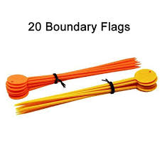 Dr Tiger Boundary Flags Length 7 6inch For Electric Dog Fence System 1 76inch Boundary Dog Drtiger Electric Electric Fence Dog Fence Large Dog Crate